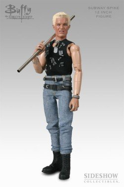 Picture of Sideshow Subway Spike - Buffy The Vampire Slayer Figure - 12 Inch - Sideshow (B000C9V6UM) (Sideshow Action Figures)