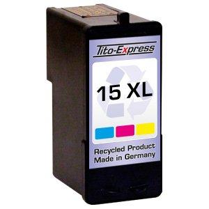 1x Druckerpatrone für Lexmark 15 XL Color X2600 Z2300 Z2310 Z2320 PlatinumSerie