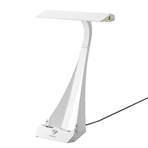 TWINBIRD ブックスタンド付LEDデスクライト Ucaled ホワイト LE-H842W
