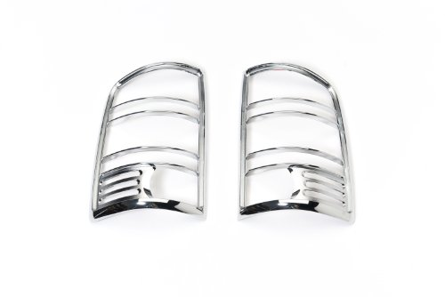 Putco 400889 Chrome Tail Light Covers 2 Piece Set