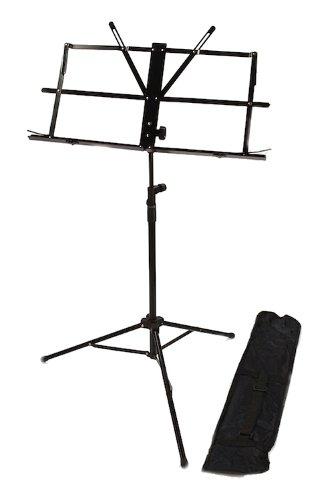 sheet music stand buy sheet music stand musical score notes tripod black folding carrying bag. Black Bedroom Furniture Sets. Home Design Ideas