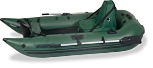 Sea Eagle 285 Deluxe Green Inflatable 9ft Pontoon Boat by Sea Eagle