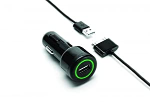 Griffin Technology PowerJolt 2.1 amp Power Charger for iPad, iPhone and iPod (Black)