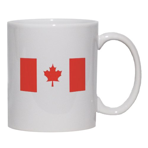 CANADA / CANADIAN FLAG Mug for Coffee / Hot Beverage (choice of sizes and colors)