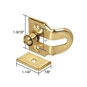 Wood Window Vent Lock front-906723
