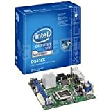 Intel DQ45EK Executive Series Q45 Mini-ITX DDR2 800 vPro Intel Graphics 1333MHz FSB LGA775 Desktop Board - Retail