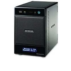 Netgear ReadyNAS Pro 4, 12TB Unified Storage System (12TB: 4 x 3TB) (RNDP4430)
