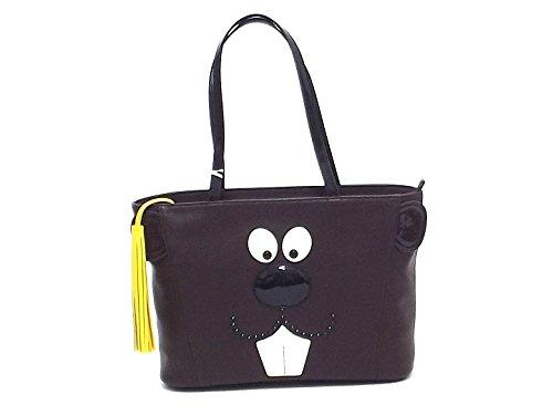 Braccialini borsa donna a spalla, Fashion zoo 10751 ecopelle A6102