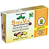 STEAVIA : Instant Stevia Tea ( Ginger Flavour ) By Green Valley Stevia