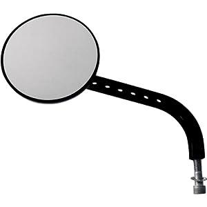 Joker Machine View Tech VII Billet Mirror - Black Anodized - Left 03-016L