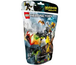 "LEGO Hero Factory - Evo Walker - 44015 (Lego Hero Factory 5702015114578) ""Protect the city from invading jumpers with EVO Walker!Attention, EVO! A massive earthquake has left..."