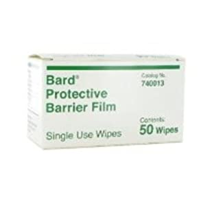 Bard Protective Barrier Film - Wipes - Box
