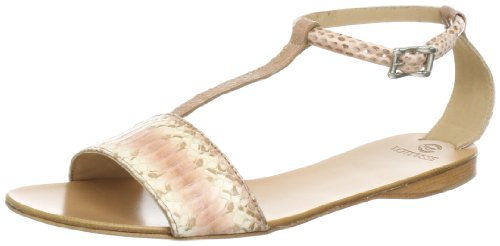 Lottusse Womens S7484 Sandals Beige Beige (mask) Size: 6 (39.5 EU)