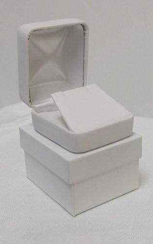 3 PACK Leatherette Jewerly Earring Flap Box
