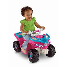 Power Wheels Fisher-Price Barbie Lil Trail Rider ATV Girls Sport Quad