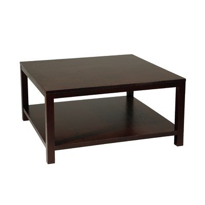 Avenue Six Merge 36 Square Coffee Table