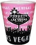 Las Vegas Shot Glass - Pink, Las Vegas Souvenirs