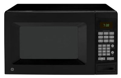 GE 19 In. Countertop 0.7 cu. ft. Black Microwave
