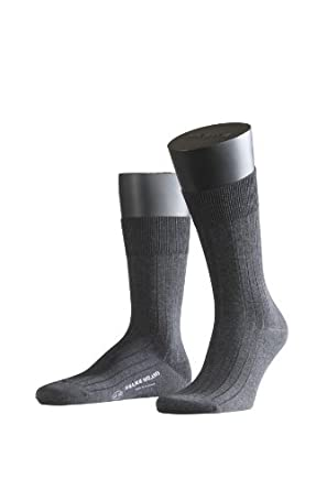 FALKE Herren Socken 14683 Milano Business SO, Gr. 39/40, Grau (anthracite mel. 3190)