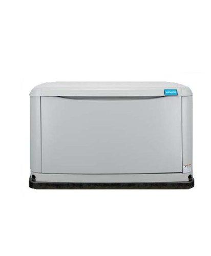 Siemens Asgn014Rbs Air Cooled Liquid Propane/Natural Gas Powered Standby Generator, 14,000-Watt