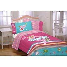 Super Girl Full Comforter Embellished