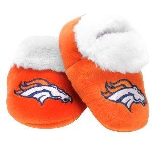 Nfl Football Baby Infant Soft Bootie Shoe - Pick Team (Denver Broncos, 12-24 Months) front-853942