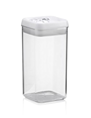 Large Flip Lock Tight Storage Jar