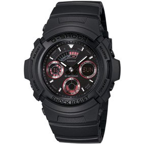 Casio Men's AW591ML-1ACR G-Shock Analog-Digital Black Sports Watch