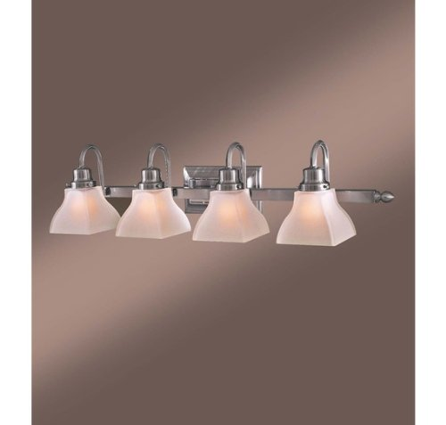 lavery 5584 84 craftsman mission 4 light 33 5 wide bathroom fixture