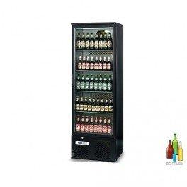 Frigo-de-bar-professionnel-100-skinplate-noir-1-porte-vitre-280-litres-380w-230v-neuf-equipementpro