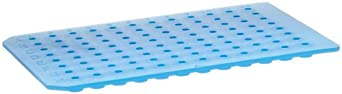 Sun Sri PTFE/Silicone Microplate Mat, 96 Round Well, Flat Base (Pack of 5)