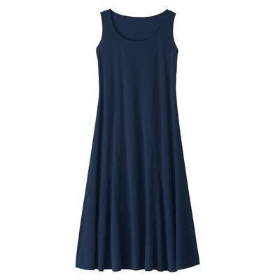 Click to buy Voyager Knit Seamed Jersey Dress Blue Large Petite from Amazon!