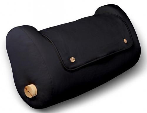 LegLounger (100 % Cotton Cover, Black Color)