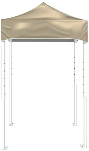 Kd Kanopy Ps25C Party Shade Steel Frame Indoor/Outdoor Portable Canopy, 5 By 5-Feet, Cream