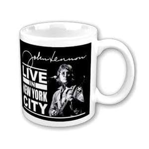 John Lennon Mug, Live In New York City