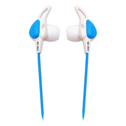 Pyle Pwp15W Waterproof Aqua Sport Headphones, White/Blue