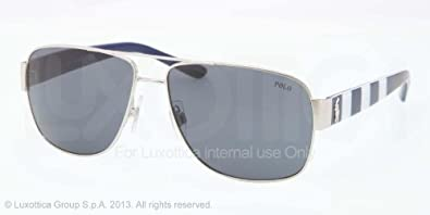 Ralph Lauren Polo Lunettes de soleil 3085/S - 926087: Shiny Silver