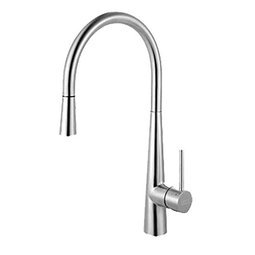 Franke FF3450 Series Pull-Down Kitchen Faucet, Stainless Steel (Franke Stainless Steel Cleaner compare prices)