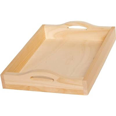 Pine Rectangle Serving Tray 15X11X288