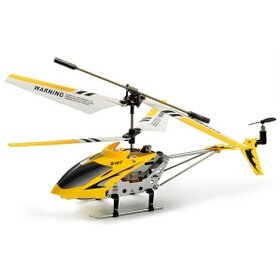 Syma S107 Mini Indoor RC Remote Controlled Helicopter Co-Axial Metal Body Frame & Built-in Gyroscope 3 Channel (Colors may vary)