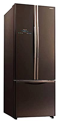 Hitachi R-WB550PND2-GBW Frost-free Multi-door Refrigerators (510 Ltrs, Glass Brown)