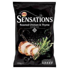 Sensations Roast Chicken Thyme 160g (Chicken Chips Walkers compare prices)