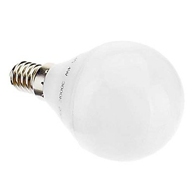 E14 G45 3.5W 24X3022Smd 280Lm 2700K Cri>80 Warm White Light Led Globe Bulb (220-240V)