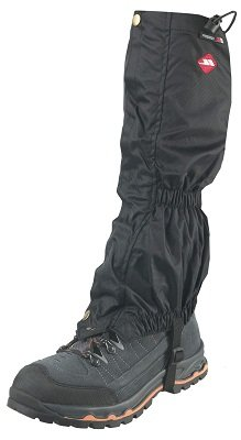 Trespass Youth Waterproof Walking Gaiters - Black