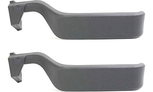 Evan-Fischer EVA18772055008 New Direct Fit Interior Door Handles for F-SERIES 87-96 Set of 2 Front or Rear Left and Right Side Plastic Black Lever only (94 Ford Lightning compare prices)