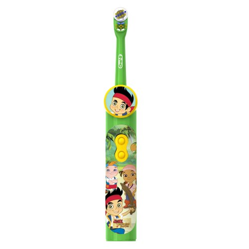 Oral-B Pro-Health Stages Jake And The Neverland Pirates Power Kid'S Toothbrush 1 Count front-573009