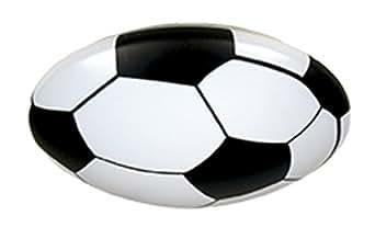 Niermann-Standby 678 - Deckenleuchte Fussball, Kunststoff weiss