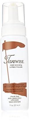 Tanwise Dark Bronzing Sunless Mousse7 fl. oz.