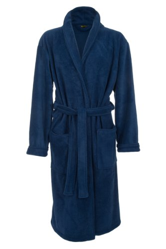 Mens-Fleece-Robe-by-John-Christian-Royal-Blue
