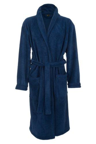 Mens-Fleece-Robe-by-John-Christian-Royal-Blue